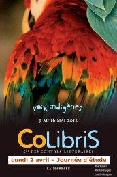 Journée d'étude CoLibriS (maj 7:02) - Agence régionale du livre