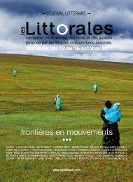 Littorales 2011.pdf - Agence Régionale du Livre PACA