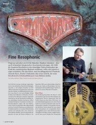 Fine Resophonic - Amistar Resophonic Guitars