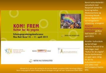 konferanse - Norsk kulturskoleråd