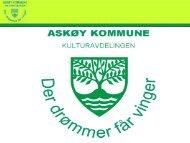 2012 Kulturskoleforum - Presentasjon av Askøy kulturavdeling