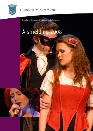 årsmelding 2008.indd - Norsk kulturskoleråd