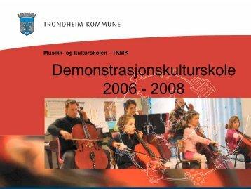 2008 Presentasjon - Norsk kulturskoleråd