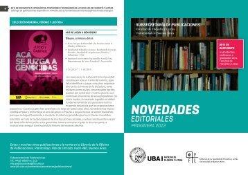 NOVEDADES - Universidad de Buenos Aires