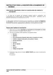 instructivo para la inscripción a examenes de idiomas