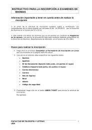 instructivo para la inscripción a examenes de idiomas - Novedades