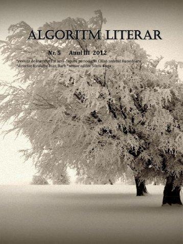 algoritm literar 5