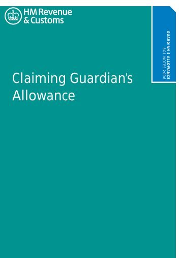Claiming Guardian's Allowance Notes - Communities and Local ...