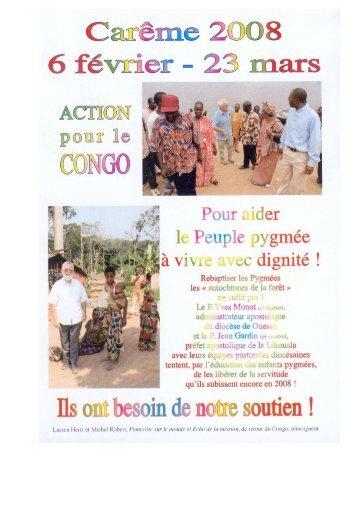 Carême Congo 2008