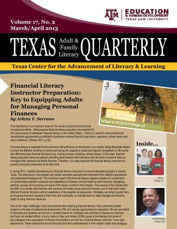 March/April PDF - tcall - Texas A&M University