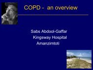 COPD - an overview