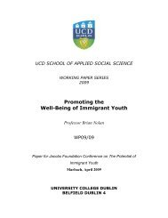 Promoting the Well-Being of Immigrant Youth - Communities and ...