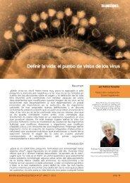 Definir la vida: el punto de vista de los virus - Boletín Biológica