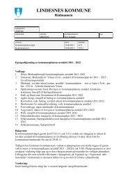 kommunestyrets behandling 16-6-11.pdf - Lindesnes kommune