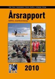 Årsrapport 2010 - søral bil