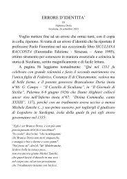 errore d'identita' su brancaleone - alphonse doria