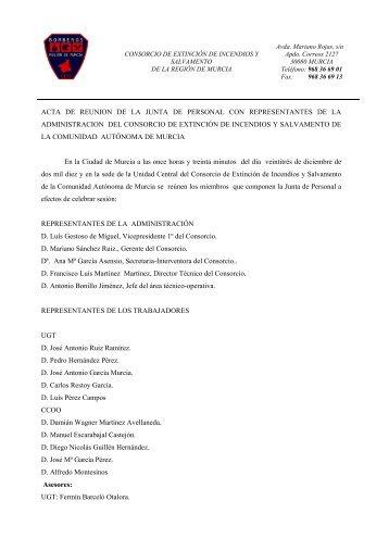 Acta del 23-12-10 - CGT – CEIS de Murcia.