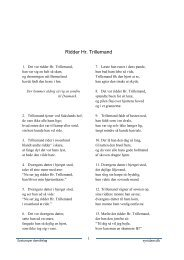 Ridder hr. Trillemand - Eysturoyar dansifelag