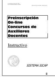 Instructivo para aspirantes - Universidad de Buenos Aires