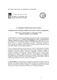 V Congreso Internacional de Letras segunda circular.pdf
