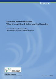 Successful School Leadership What It Is and How It Influences Pupil ...