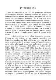 INTRODUZIONE - alphonse doria