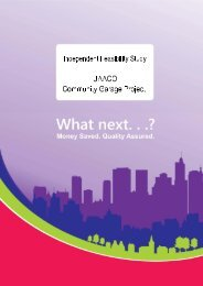 Feasibility Study - Wider Impact