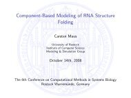 Component-Based Modeling of RNA Structure Folding