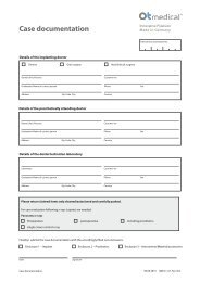 Case documentation - OT medical GmbH
