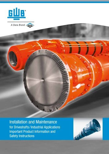Installation and Maintenance - GWB