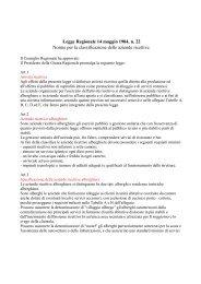 Legge Regionale 14 maggio 1984, n. 22 Norme per la ... - Promocamp