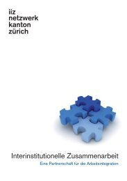 iiz-Flyer - Amt für Wirtschaft und Arbeit - Kanton Zürich