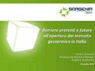 Sorgenia - Unione Geotermica Italiana