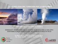 Turboden - Unione Geotermica Italiana