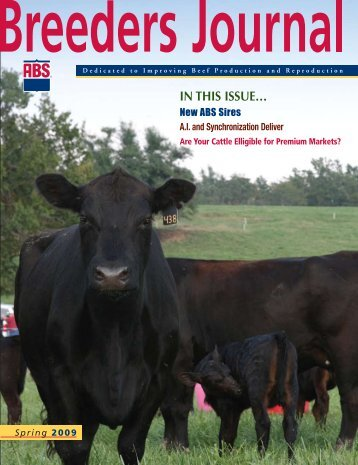 IN THIS ISSUE… - ABS Global, Inc.