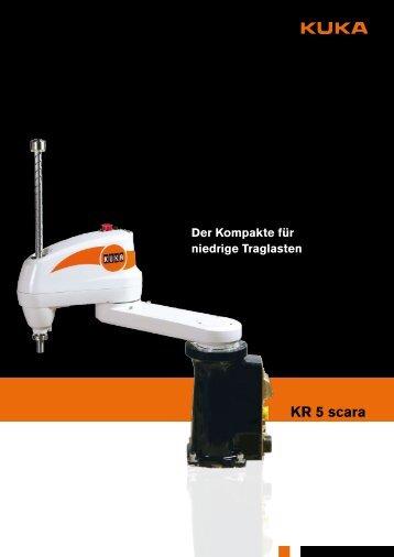 KR 5 scara - KUKA Robotics