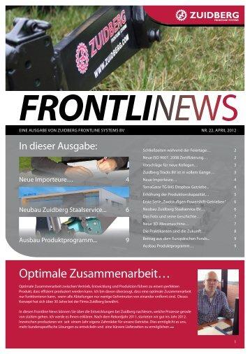 Optimale Zusammenarbeit… - Zuidberg Frontline Systems