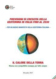 Scarica la pubblicazione in formato PDF - Unione Geotermica Italiana