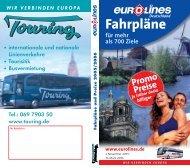 Fahrpläne - Deutsche Touring GmbH