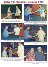 Bilder från klubbmästerskapen 1997.indd - Slagproffset