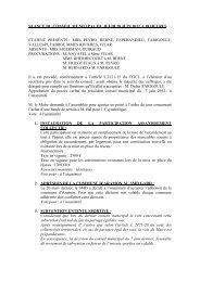 Compte rendu 28 juin - Castillon du Gard