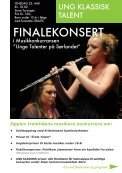 Klassisk talentfestival på Sørlandet Klassisk talentfestival på Sørlandet - Page 5