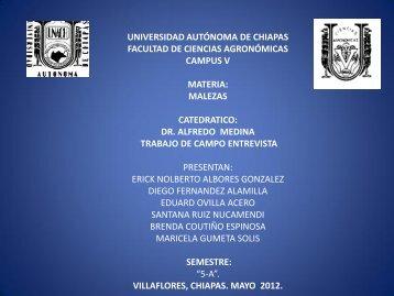 Diapositiva 1 - Universidad Autónoma de Chiapas