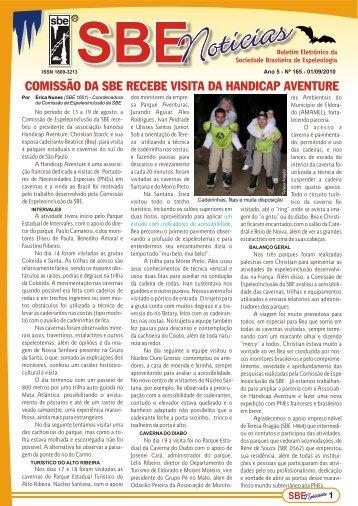 comissão da sbe recebe visita da handicap aventure - Sociedade ...