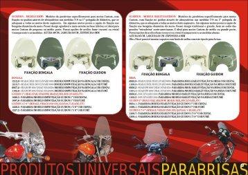 Bolhas e retrovisores - Moto Parts