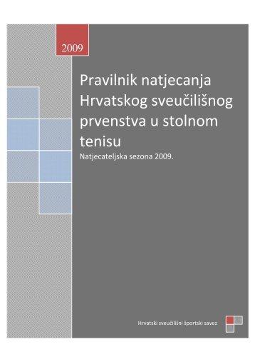 Pravilnik natjecanja Hrvatskog sveučilišnog prvenstva u stolnom ...