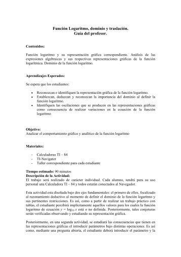 DOMINIO Y RANGO DE UNA FUNCIÓN - Monografias.com