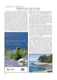 Miomirisni otok - Priroda