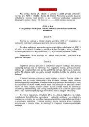 odluka o proglašenju Perivoja sv. Jakova u Opatiji ... - Priroda