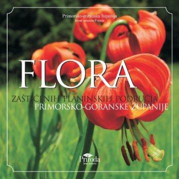 Flora zaštićenih planinskih područja Primorsko-goranske ... - Priroda